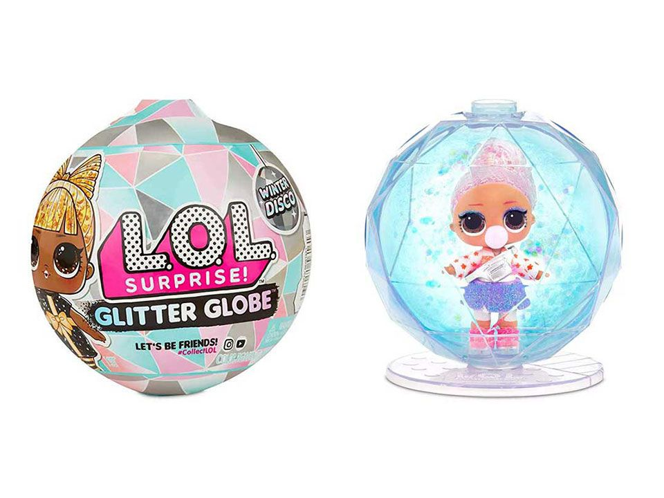 Bola Glitter Globe