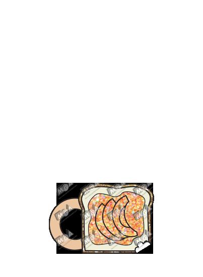Peach Jam Toast
