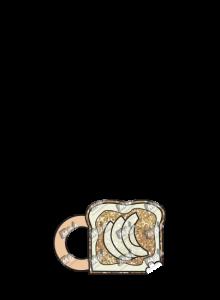 PB & Apple Toast