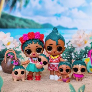 Coconut Luau Family