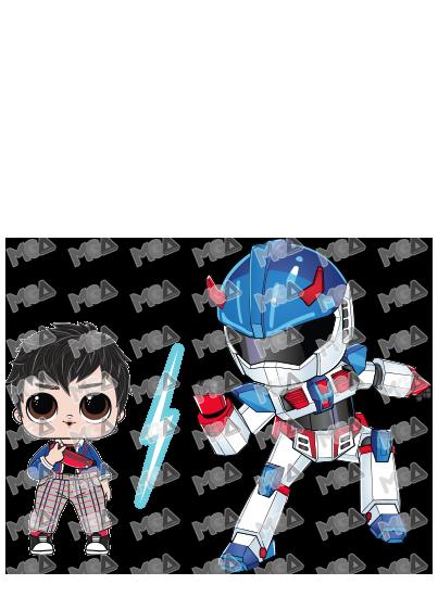 Fan Boy / Robot: Atomic